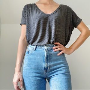 FREE w/ purchase Brandy Melville oversized top